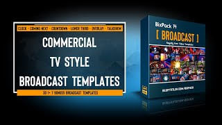 Download BixPack 14 - Intro video templates - Broadcast Video