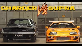 Download SUPRA 🆚 CHARGER -||- Versus Series Video