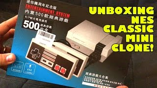 Download Chinese Knock Off NES Classic Mini Unboxing & Playing Nintendo Famiclone Bootleg Video