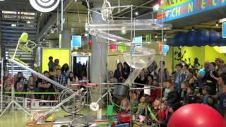 Download Chain Reaction at Nemo Amsterdam, a Rube Goldberg Machine Video
