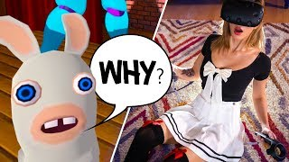 Download Little Kid Shows Me the Dark Side of VR Chat Video