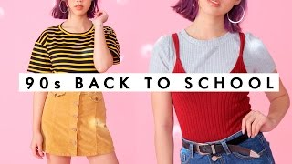 Download 90's COZY Back to School Outfits! Video