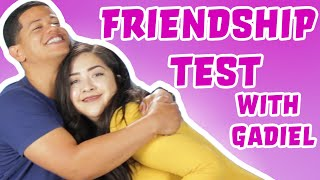 Download FRIENDSHIP TEST WITH GADIEL DEL ORBE Video