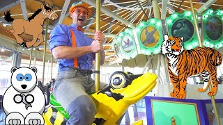 Download Learn Zoo Animals for Kids with Blippi | A Day at the Zoo Video