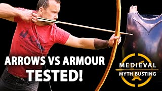 Download ARROWS vs ARMOUR - Medieval Myth Busting Video