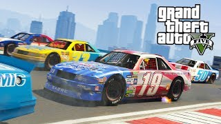 Download GTA 5 NASCAR RACES!! (GTA 5 Online DLC Update) Video