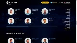Download DECOIN | The first blockchain Profit Sharing Exchange platform Video