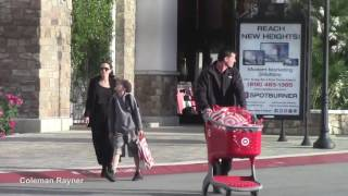 Download Angelina Jolie takes daughter at music store ″Guitar Center″ in Los Angeles Video