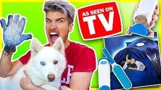 Download TESTING WEIRD AS SEEN ON TV PRODUCTS! | Do They Really Work?! Video