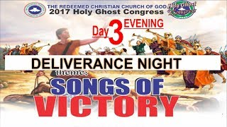 Download RCCG 2017 HOLY GHOST CONGRESS #Day3 Deliverance Night Songs Of Victory Video