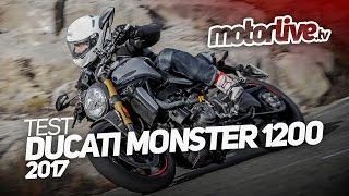 Download DUCATI MONSTER 1200 S 2017 | TEST COMPLET Video