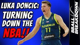 Download LUKA DONCIC EXCLUSIVE: He's Turning Down The NBA Video