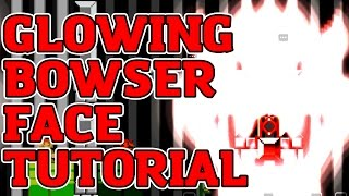 Download Super Mario Maker Glowing Bowser Face Tutorial Video