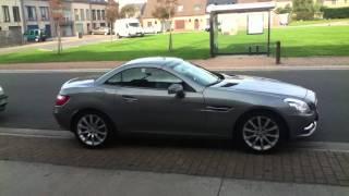 Download New Mercedes Slk200 2011 engine start up sound and accelera Video