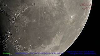 Download World's sharpest Tele lens! Moon, 300x zooming in! 4K, UHD, Leica 2.8/400 mm Video