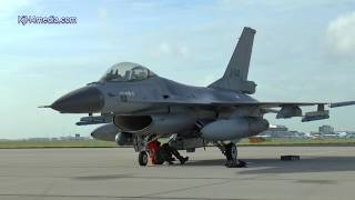 Download F-16's landing Amsterdam Schiphol [video] Dutch F16 Falcon fighter Jet Video