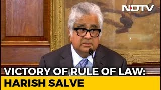 Download Pak's Conduct Under Watch, Harish Salve Tells After Kulbhushan Jadhav Verdict Video
