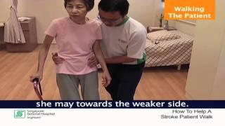 Download How To Walk A Patient With Stroke Safely - SingHealth Healthy Living Series Video