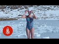 Download These Ice Swimmers Battle Frozen Death with Every Stroke | That's Amazing Video