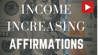 Download Income Increasing Affirmations! (In 432 Hz) - Listen for 21 Days! Video