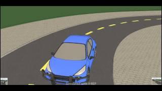 Download Autonomous Vehicle Simulation Video