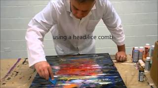 Download Abstract expressionism by MABO (#4) Video