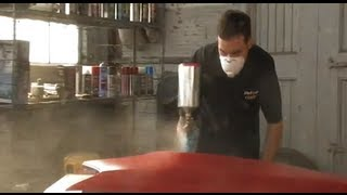 Download Paint Shop Candy Coat System by Dupli Color on a El Camino Restoration 9 of 12 Video