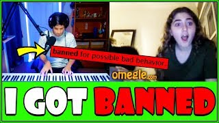 Download Pianist gets BANNED on Omegle... Video