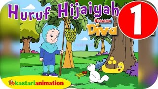 Download Huruf Hijaiyah bersama Diva (full version) | part 1 | - Kastari Animation Official Video