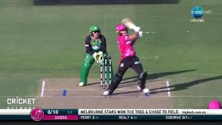 Download Sydney Sixers v Melbourne Stars, WBBL|03 Video