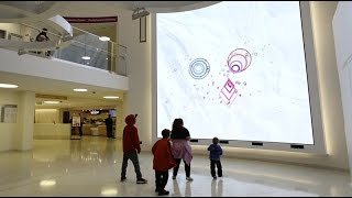 Download Interactive Media Wall at Boston Children's Hospital Video