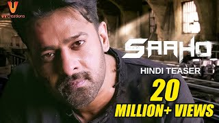 Download Saaho - Official Hindi Teaser   Prabhas, Sujeeth   UV Creations Video