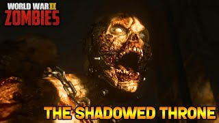 Download WW2 ZOMBIES - THE SHADOWED THRONE MAIN EASTER EGG HUNT! (Call of Duty WW2 Zombies) Video
