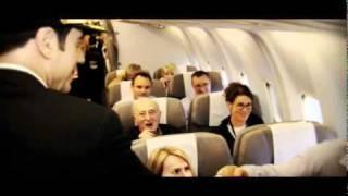 Download Qantas Ambassador John Travolta Surprises Platinum One VIPS Video
