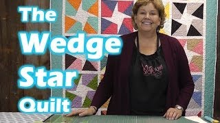 Download How to make the Wedge Star Quilt Video