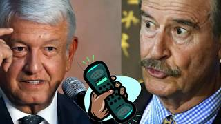 Download SE FILTRA PLATICA DE AMLO Y VICENTE FOX!!! **CHECA LO QUE DIJERON Video