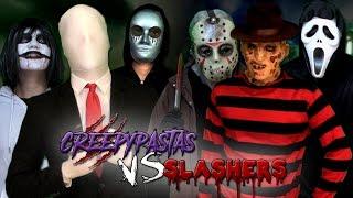Download Creepypastas vs Slashers. Batalla Final de Rap (Especial Post-Halloween)   Keyblade Video