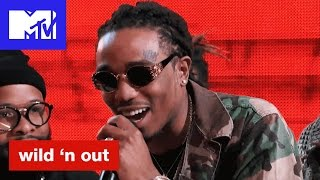 Download Quavo of Migos Calls Nick Cannon's Hat Alligator Ass | Wild 'N Out | #Wildstyle Video
