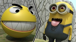 Download Pacman vs Minions Video