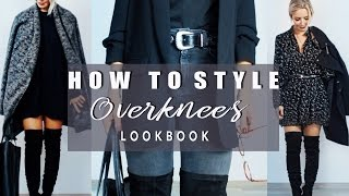 Download HOW TO STYLE : Overknees | Over the knee Boots | Für Büro + Alltag | + LOOKBOOK Video
