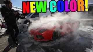 Download NEW WRAP FOR MY LAMBORGHINI AVENTADOR! Video