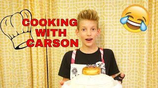 Download COOKING WITH CARSON *HILARIOUS* Video