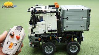 Download LEGO Technic 42043 - RC Motorized MINI Mercedes-Benz Arocs by 뿡대디 Video