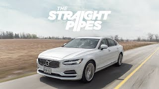 Download 2018 Volvo S90 T8 Inscription Review - Supercharged Turbo Plug In Hybrid Luxury Video