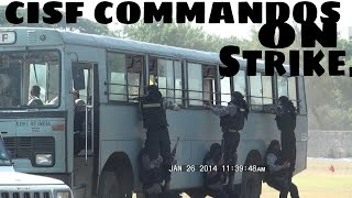 Download Best ever Drill by CISF Commando's at NFC Ground Hyderabad on 26/01/2014. Video