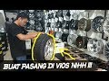 Download GANTI VELG MOBIL TOYOTA VIOS PAKE VELG WORK MEISTER RING 17 by SINAR OTOMAX Video