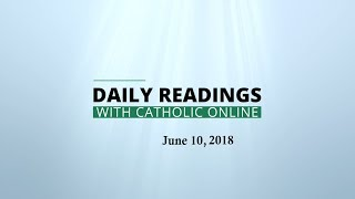 Download Daily Reading for Sunday, June 10th, 2018 HD Video