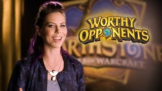 Download Michele Morrow and Tay Zonday Play Hearthstone! (Worthy Opponents) Video