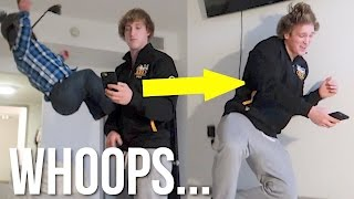 Download I PUT A HOLE IN MY ROOMMATES WALL! Video