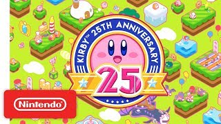 Download Kirby 25th Anniversary Trailer Video